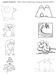 35 Coloring Pages Of Animals In Their Habitats, Gallery For Ocean ...