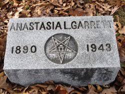 Anastasia Lucia Garrett (1890-1943) - Find A Grave Memorial