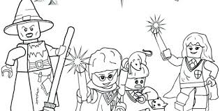 Harry Potter Coloring Pages Lego Hufflepuff Online Download Latest