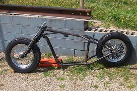 bobber rolling chassis custom built motorcycles garage built