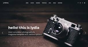 Photography Website Themes Free Premium Website Templates