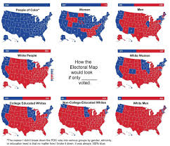 2012 Election Chart 2016 Us Presidential Electoral Map If Only X Voted