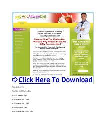 The Acid Alkaline Diet For Optimum Health Pdf Acid