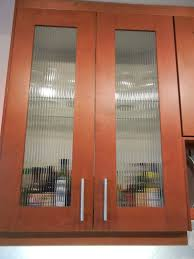 custom reed glass in adel cabinets