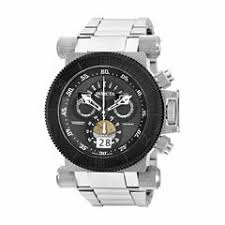invicta men s watches for jewelry watches jcpenney invicta mens silver tone bracelet watch 17646
