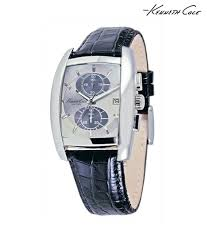 kenneth cole leather strap watch kenneth cole leather strap watch at best s in india on snapdeal