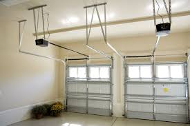 this type of opener is useful for commercial garage doors or for homeowners with tall garages who want extra ceiling space for shutterstock 63340165