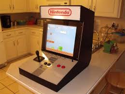 this cool diy nintendo arcade cabinet was made from the guys over at