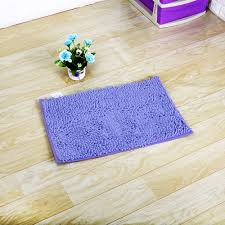 nk home 20x31in non slip bathroom rugs chenille bath rugs area rugs carpet home decoration breathable mat fast water absorbent red pink grey blue