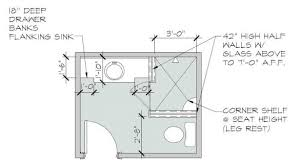 elegant walk in shower plans on free small bathroom floor with and no tub the