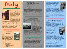 How To Make Travel Brochure Brochure Examples For Students How To Make Travel Brochures