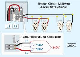 sharing a neutral is acceptable nec article 100 a multiwire branch circuit is a circuit two or more ungrounded conductors having a voltage between them equal voltage between the ungrounded