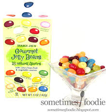 Sometimes Foodie Gourmet Jelly Beans 18 Flavors Trader