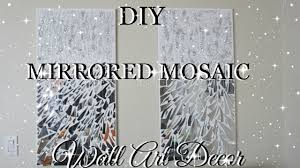 mirror wall art. diy mirror mosaic wall art pier one inspired | petalisbless🌹 mirror wall art u