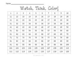 Hundreds Chart To 120 Earth Hundreds Chart To 120 Watch Think Color Mystery Pictures