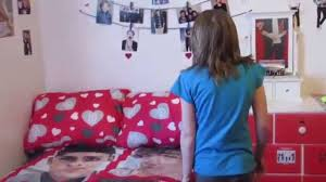 One Direction Bedroom Decor One Direction Room Makeover With A Surprise Youtube