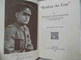 HOLDING THE LINE by Sergeant Harold Baldwin 1918 | eBay
