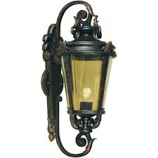 baltimore single light large outdoor wall lantern in a weathered bronze patina