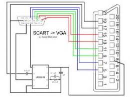 scart to rca wiring diagram images also vga wiring diagram vga to scart circuit diagram vga circuit and schematic