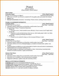 Ut Austin Resume Template Mccombs Resume Template 100 Luxury Mla Sample Ut Form Sevte Format 75