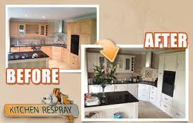 kitchen respray in dublin