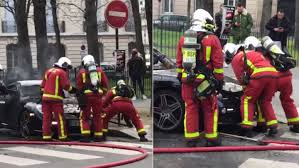 Watch French Firefighters Force Porsche Cayman Frunk Open to Put out ...