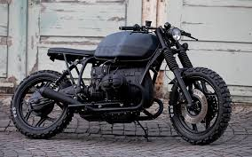 bmw r80 t63 by angry motors is a total black cafe racer