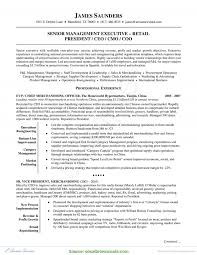 Resume Category Examples