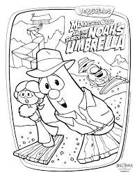 Small Picture Veggie tales coloring pages movie ColoringStar