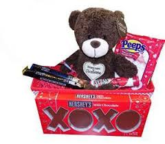 ultimate chocolate valentines day gift basket idea for him or her kids or s