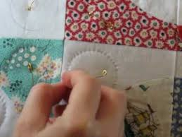 Hand Quilting 7 -- Tying Off (The End Knot) - YouTube & Hand Quilting 7 -- Tying Off (The End Knot) Adamdwight.com
