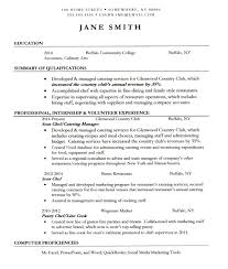 18 Culinary Arts Resume Sample Culinary Resume Resume Samples