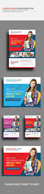 junior school education psd flyer template by graphicforestnet junior school education psd flyer template corporate flyers