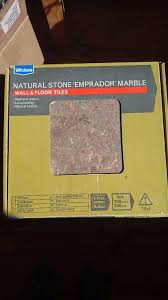 real marble wickes tiles 8 boxes brand new 15 per box ono