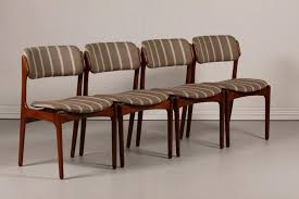 brown leather dining chair fresh mid century od 49 teak dining chairs by erik buch for