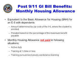 A Guide To Post 9 11gi Bill Educational Benefits Illinois