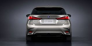 2018 lexus ct200h f sport. interesting sport at the rear of car are new u201clu201dsignature shaped taillights that give  ct 200h a sportier wider appearance new combination  in 2018 lexus ct200h f sport p