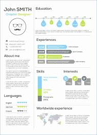 Cv Powerpoint Gratuit Infographic Resume Template Free