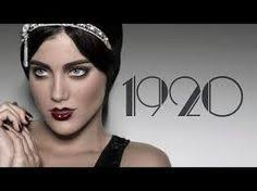 image result for 1920s hair and makeup