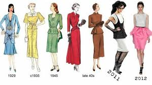 can history repeat itself world history men and female still love to wear new type of dresses but concept does not change on the bigger spectrum