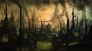Dark Industrial City Art (Page 2) - Line.17QQ.com