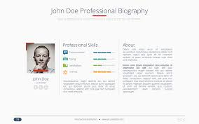 powerpoint biography harmony usability powerpoint presentation template by bandidos