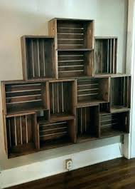 wooden crate shelves best shelving ideas on wood wallpapers crates made into bookshelf from unfinished bathroom wooden crate shelves