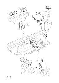 Engine room wiring harness contd opel frontera b