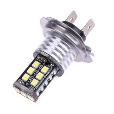 Us 368 16 Off2 Stks H7 15smd Auto Auto Fog Lamp Dc12v Vervangen Canbus Foutloos 3535 Led Witte Auto Styling Fog Drl Koplamp In 2 Stks H7 15smd