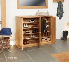 image baumhaus mobel. Image Of The Baumhaus Mobel Oak Extra Large Shoe Cupboard (COR20F) With Doors Open R