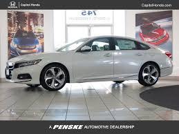 honda accord 2018 white. 2018 honda accord sedan touring 2.0t automatic - 17151625 0 white