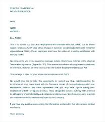 Termination Of Service Letter Template Luxury Termination Service ...