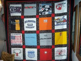 T-Shirt Quilts, Memory Quilts – custom order – Lady Bug Lace & t-shirt quilt Adamdwight.com