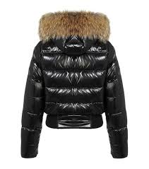 MONCLER Alpes fur hood quilted jacket dark coffee,moncler womens,moncler  coat sale,Official